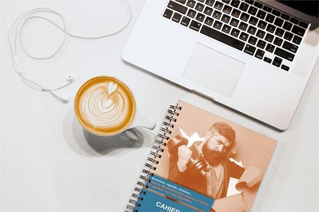 3 - cahier exercices inbound marketing macbook