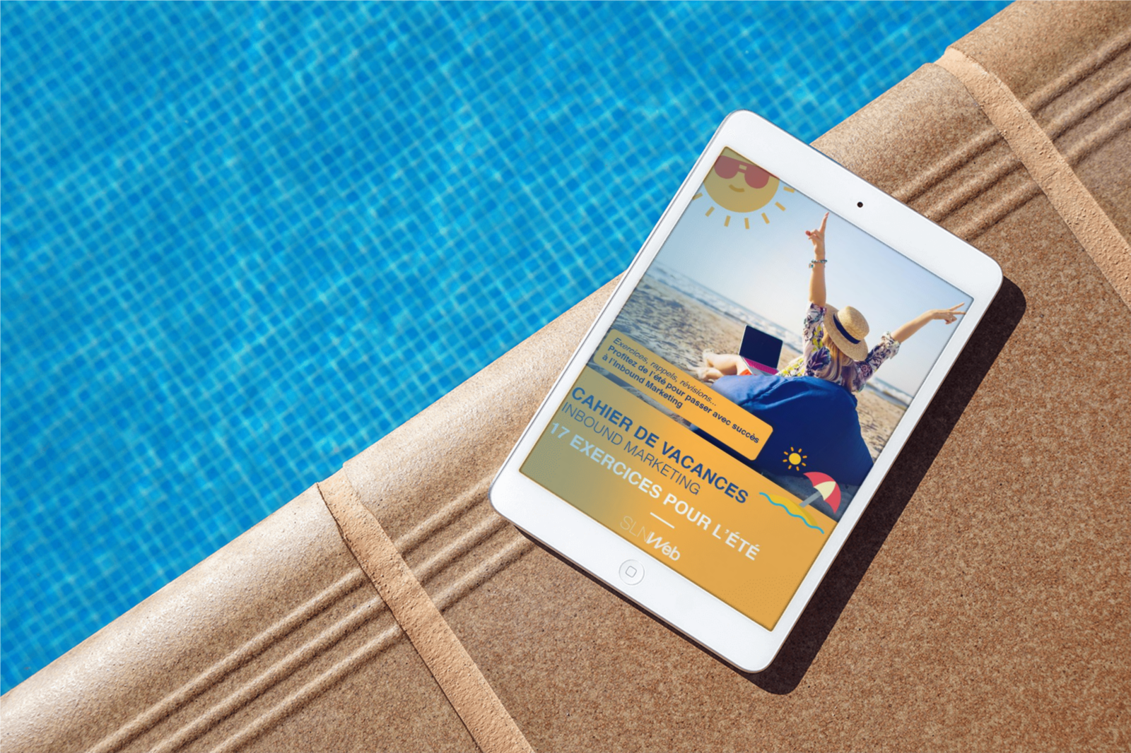 le cahier de vacances Inbound Marketing - a la piscine